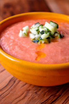 Salmorejo (Spanish summer tomato soup)