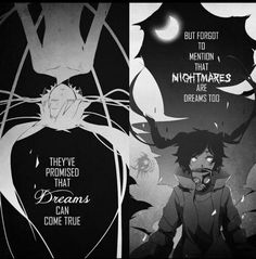 Nightmares are Dreams too •  Anime Quotes