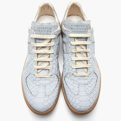 Reflective Replica sneakers maison Martine margiela