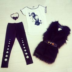 Super outfit #dollyrocker Legginsmania #dollystyle #instagood
