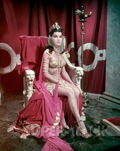 Debra Paget , Princess of the Nile , 1954 directed by Harmon Jones [Twentieth Century Fox Pictures] Stock Photo Vintage Glamour, Vintage Beauty, Vintage Hollywood, Hollywood Glamour, Classic Hollywood, Cleopatra, Fox Pictures, Actrices Hollywood, Classic Movie Stars