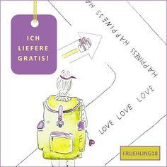 Shop-Coupon FRUEHLING18 eingeben und ich liefere ab einem Bestellwert von 11€ kostenlos innerhalb Österreich! Coupon, Map, Greeting Cards Birthday, Positive Affirmations, Photo Illustration, Location Map, Coupons, Peta, Maps