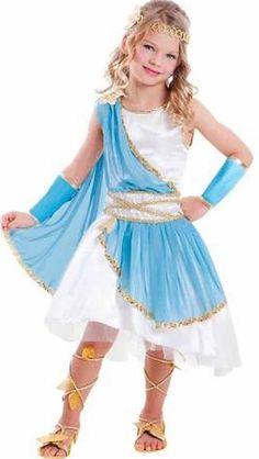 girls greek goddess princess dress up halloween costume new s in clothing shoes accessories costumes reenactment theater costumes ebay - Ebaycom Halloween Costumes