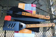 Personalized BBQ Grill Tool Set- Order Now and Get by Father's Day! by AWhimsicleLove on Etsy