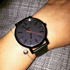 #black #timex watch & #mintydot bracelet