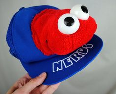 RARE Vintage Nerds Candy Plush Cap Hat by RogueRetro on Etsy, $28.00 /// www.art-by-ken.com