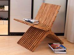 Cadeira de madeira CHAIR 2 by Boomerang by Atmosfera
