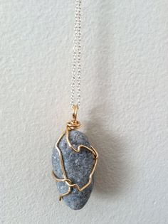 Wire wrapped rock pendant wire wrapping wraps and rock aloadofball Images