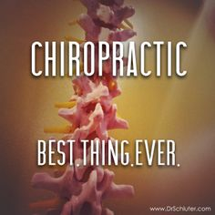 Best.Thing.Ever. #Chiropractic -Old Bridge Spine and Wellness www.oldbridgespine.com