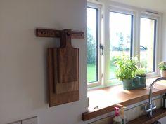Solid oak chopping board trio from www.holderandhook.co.uk  Handcrafted in rural Norfolk