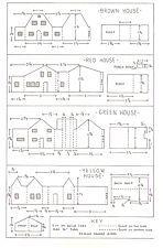 Mini Glitter house patterns
