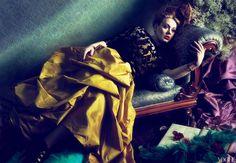Star: Adele Photographers: Mert Alas & Marcus Piggott Fashion Editor: Tonne Goodman Vogue US, March 2012 Vogue