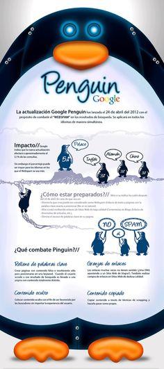 Google Penguin... Infografia #Infographic