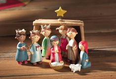 Lifesighs Children's Christmas Pageant Nativity Set >>> Visit the image link more details. (This is an affiliate link) Christmas Clay, What Is Christmas, Merry Christmas To All, Christmas Nativity, Christmas Time, Christmas Crafts, Christmas Decorations, Christmas Ornaments, Christmas Ideas