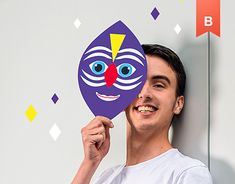 """[EN] Here is the communication of """"HAPPY-UPEC"""" from Paris-Est Creteil University. In the continuity of the communication campaign of the previous year, we propose to stage students wearing """"HAPPY"""" masks. Previous Year, Happy, Poster, Behance, Gallery, Design, Typography, Graphic Design, Posters"""