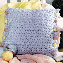 Buttoned-Up Pillow Crochet Pattern