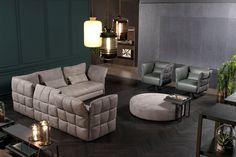 EVA DUE | Divano Angolare Componibile in Pelle #sofa #cierre