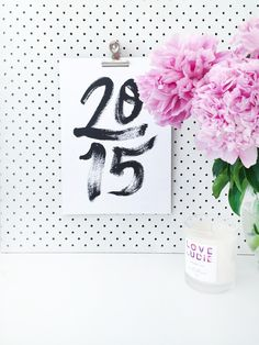 Your organisational Dreams have come true! I have designed & created a new monthly calendar for 2015. Shop now at shop.jasminedowling.com
