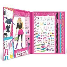 Fashion Angels Barbie Sticker Stylist | eBay