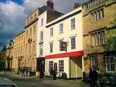 The lamb  flag pub in Oxford city center. Blog La viajera