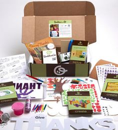 Monthly subscription boxes for moms and kids