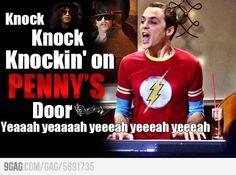 Sheldon Cooper's life as a rock song