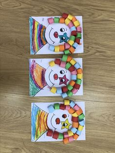 9 amazing cow crafts and ideas for kids and preschoolers. Clown Crafts, Carnival Crafts, Kids Carnival, Crafts For Teens, Diy For Kids, Diy And Crafts Sewing, Diy Crafts, Theme Carnaval, Sheep Crafts