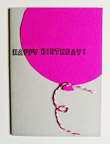 """Heute habe ich mich das erste Mal im """"Kartenbasteln"""" versucht.  Ich habe zwei Geburtstagskarten gestaltet.   Material:    Klappkarten in hel..."""