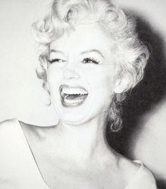 Marilyn laughing