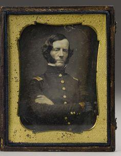 Confederate Major General Carter Littlepage Stevenson Pre-War Daguerreotype. Antebellum images of Confederate generals as ju.