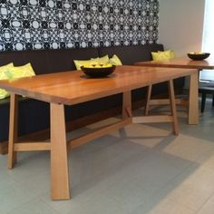 Whether you're inspired by industrial chic, cosy rustic or simple elegance, choose Eurofurn's premium range of custom built tables. Contemporary Style, Table, Timber, Furniture, Custom Table, Timber Table, Home Decor, Industrial Chic, Dining Table