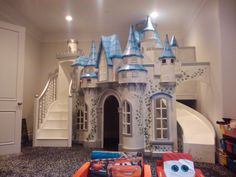 Wizard of Oz Castle Big Indoor Playhouse is part of Kids bedroom The Wizard of Oz Castle Playhouse is our most spectacular castle playhouse design to date You can see the full size live version - Castle Playhouse, Build A Playhouse, Princess Playhouse, Bunk Beds Small Room, Kids Bunk Beds, Small Rooms, Princess Bedrooms, Princess Room, Princess Beds