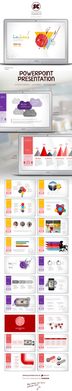 Creative Powerpoint Template Templates, Creative and Creative - elegant powerpoint template