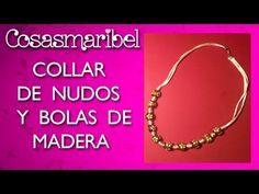 DIY:Collar de nudos franciscanos.