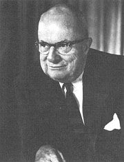 Henry John Kaiser (May 9, 1882 – August 24, 1967) was an American industrialist who became known as the father of modern American shipbuilding. He established the Kaiser Shipyards, which built Liberty ships during World War II,