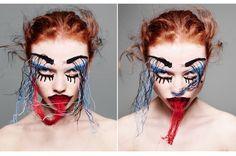 belle découverte : make-up artist Andrew Gallimore