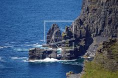 Cliff's of Moher as a canvas print 11890338 Cliffs Of Moher, Tower Bridge, Mount Rushmore, Community, Canvas Prints, Fine Art, Mountains, Nature, Travel