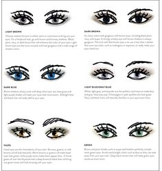 Makeup for Eye Color