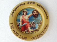 King David and Goliath! Hand-made memorable souvenir plate from the Holy Land by AlperinCrafts on Etsy