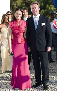 Carina Axelsson and Prince Gustav
