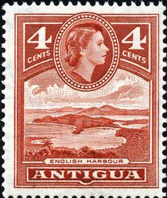 King George VI Postage Stamps: Antigua 1953 (2 Nov) - 62 SG120a/134