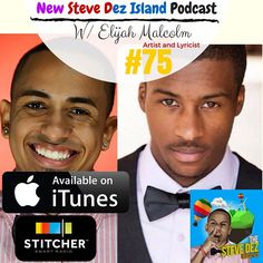 What Happens when two classy artists clash ? #art  Artist and Lyricist Extraordinaire Elijah Malcolm stops by my island to share how it was growing up in #California how his family influenced his music and the future of him as an artist! All this and more in this week' #Podcast -Steve Dez Stevedez.com  #stevedez #actor #comedian #smile #smiling #happy #happiness #hollywood #PuertoRico #boricua #quotes #positivity #positive #funvideos #comedy #comedia #SteveDezIsland #SteveDezIslandPodcast…