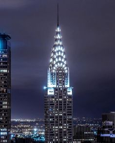 The Chrysler Building by brooklynveezy by newyorkcityfeelings.com - The Best Photos and Videos of New York City including the Statue of Liberty Brooklyn Bridge Central Park Empire State Building Chrysler Building and other popular New York places and attractions.