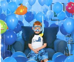 """Heeey, I did this """"Underwater Adventure"""" photo shoot! How fun to find it on here. :)"""