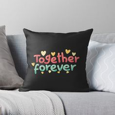 Siblings, Twins, Together Forever, Home Decor Accessories, Graphic Art, Pillow Covers, Friendship, Throw Pillows, Art Prints