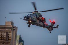 Australian Army Aviation – ARH Tiger over the Brisbane River