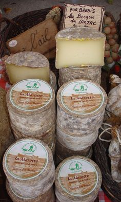France. Cheese, glorious cheese!