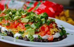 The Freshest 9-Layer Dip