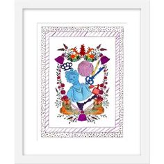 Rachel Rogers is a San Francisco-based artist known for playful and colorful designs. Her ink and water-color creations are both whimsical and eleg. Rachel Rogers, San Francisco Shopping, Contemporary Artists, First World, Fine Art Paper, Needlework, Whimsical, Fine Art Prints, Cupboard