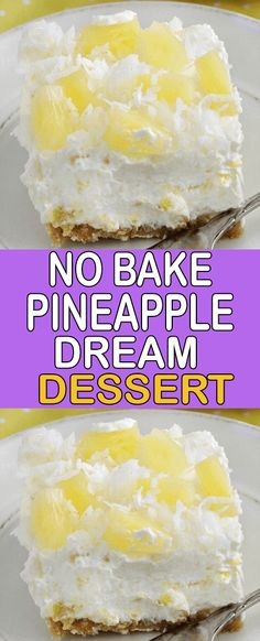 Baked Pineapple, Healthy Desserts, Cookie Desserts, Easy Desserts, No Bake Desserts, Delicious Desserts, Just Cakes, Diy Crafts, No Bake Cookies